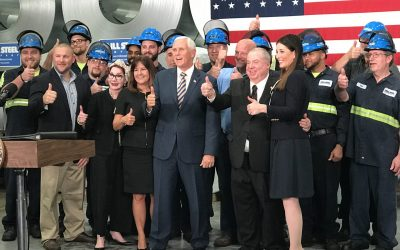 An American Success Story: Mill Steel Co. Praised by Vice President Pence