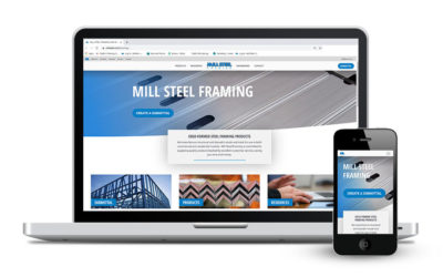 Mill Steel Framing Launches New Website and Submittal Tool