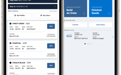 Mill Steel Co. Launches First Mobile App for Painted Coil Market